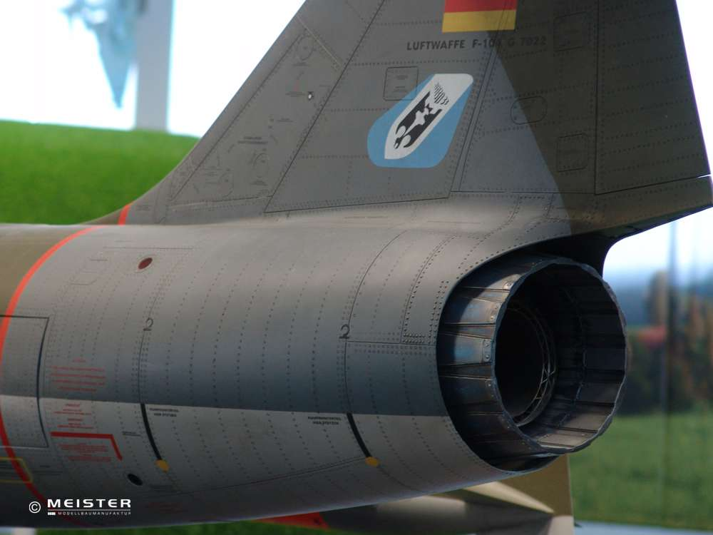 Starfighter F-104 RC-Modellflugzeug