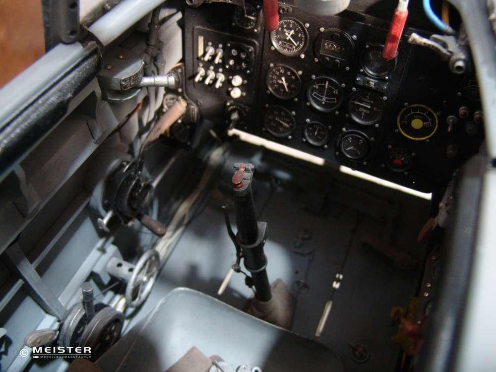 Flugzeugmodellbau Scale Cockpit LA-7