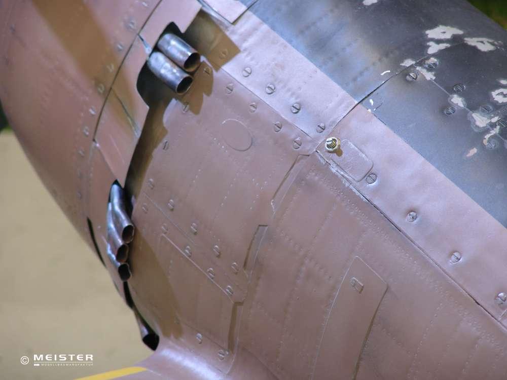 Ki-84 Nakajima Flugzeugmodellbau