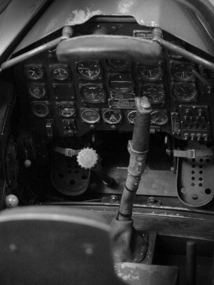 Scale Cockpit Warbird Junkers Ju 87