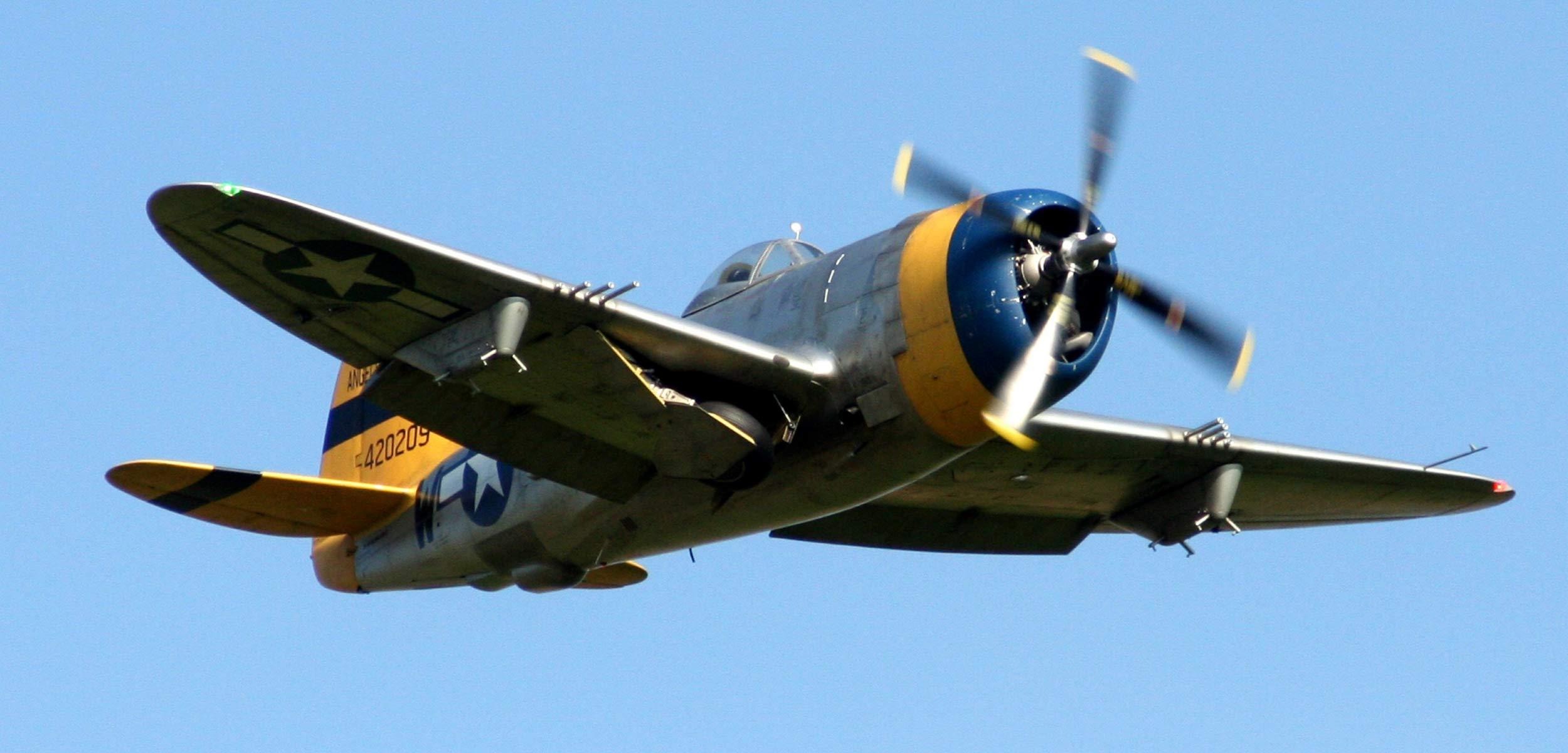 Flugzeugmodellbau P-47 Thunderbolt