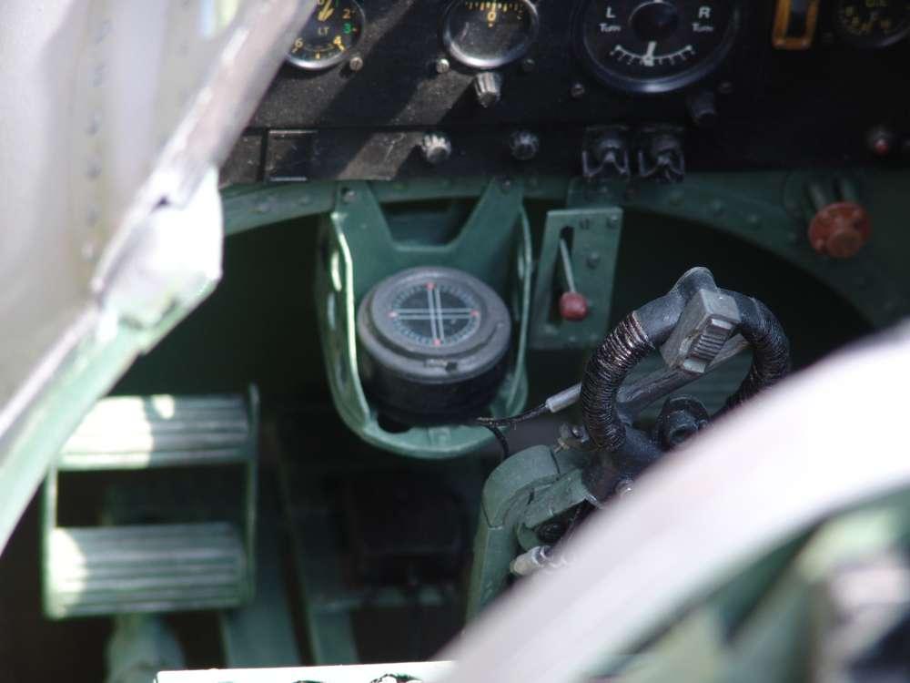 Scale Cockpit Warbird Spitfire
