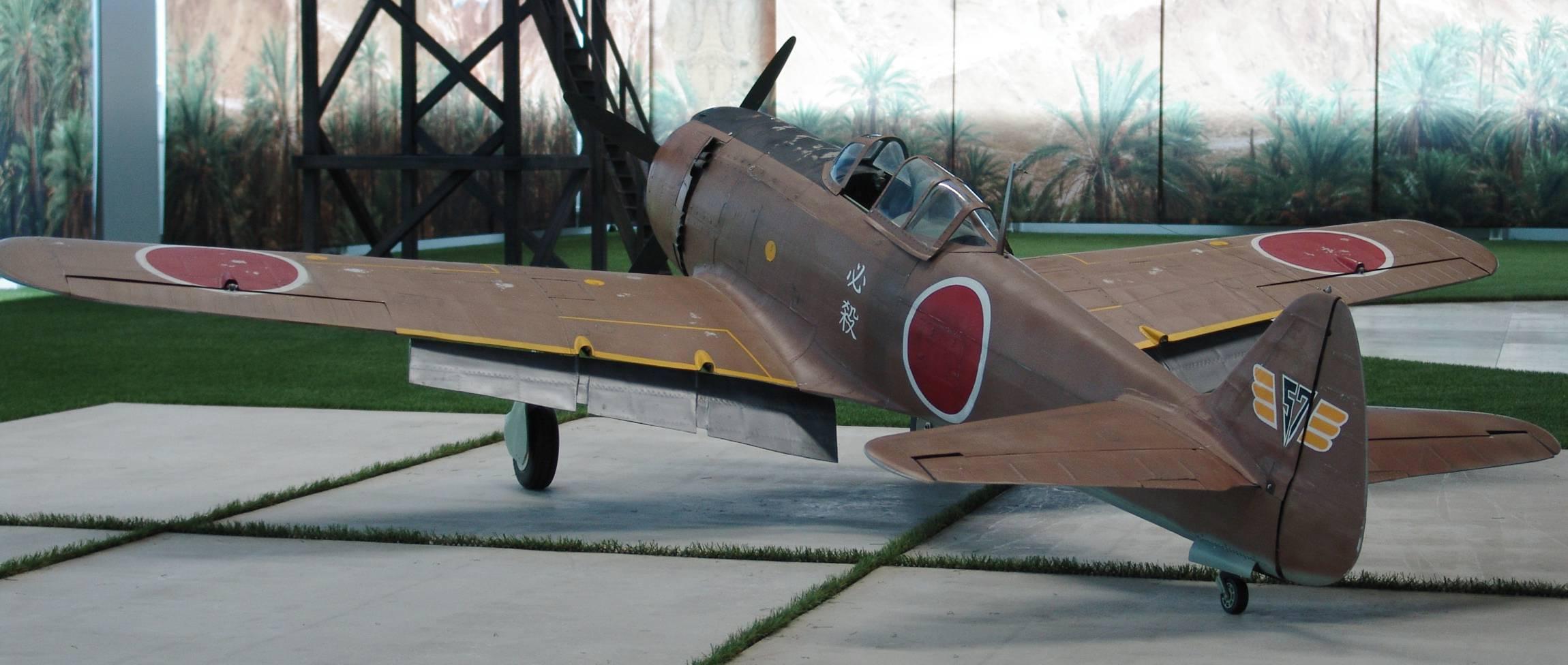 Ki-84 Nakajima Hayate Warbird