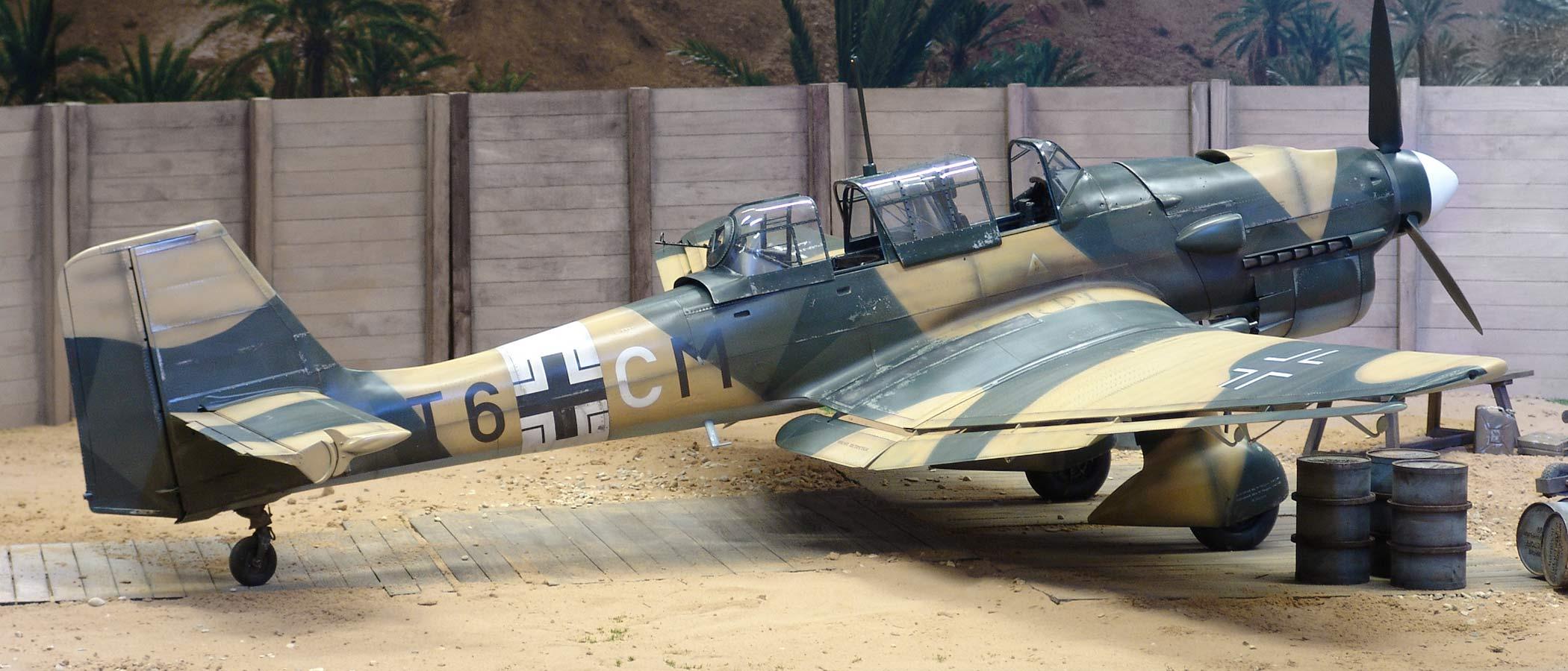 Junkers Ju87 R2 Warbird Scale Cockpit