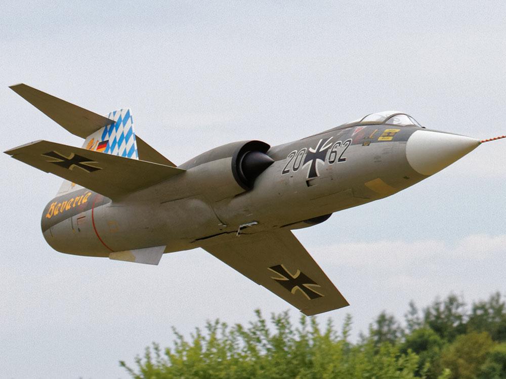 F-104 Starfighter Bausatz