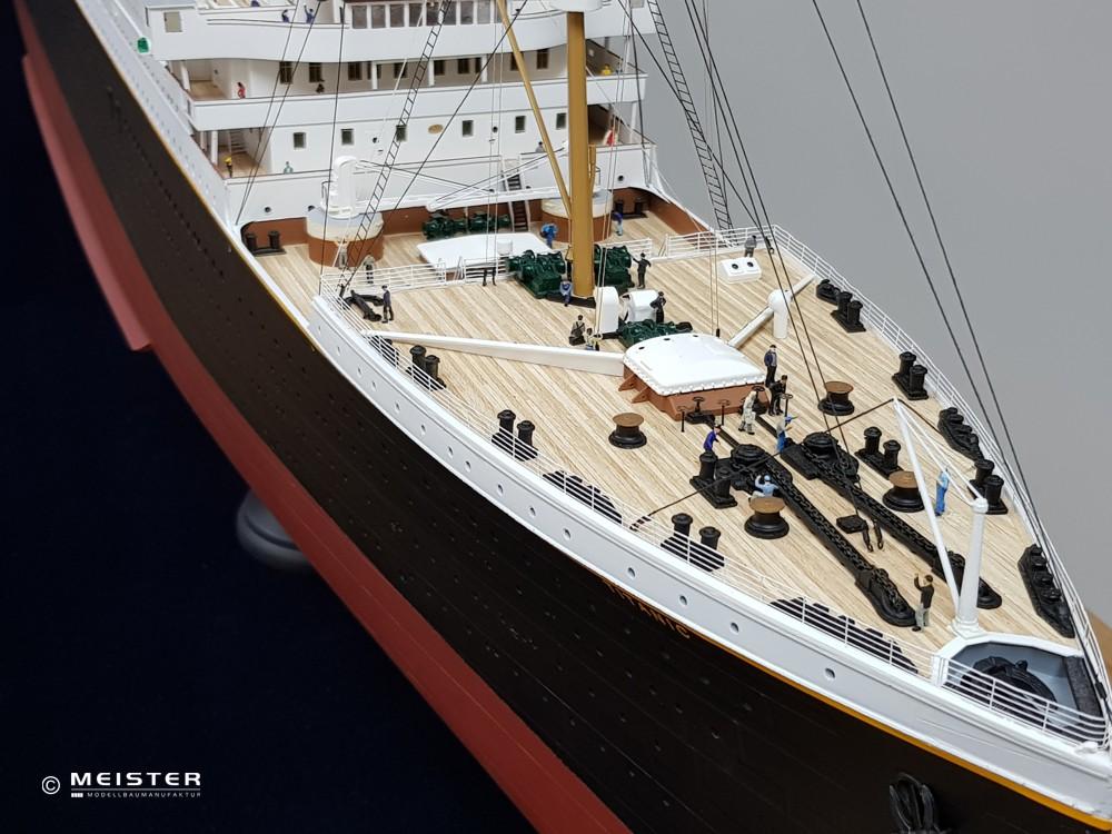 Schiffsmodellbau Titanic